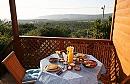 בקתות דרך האושר ארוחת בוקר אל הנוף