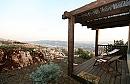 דארנא בגליל מבט מהמרפסת הפרטית